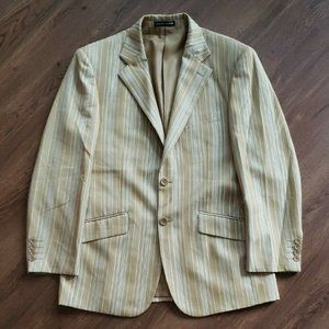 Giorgio Armani Golden 2 Button Blazer Jacket